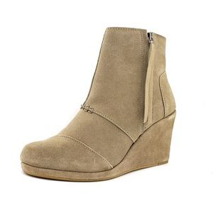 TOMS Wedge Ankle Bootie